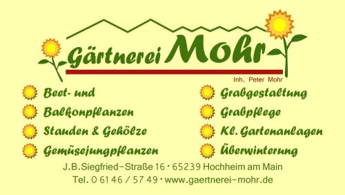 Gärtnerei Mohr
